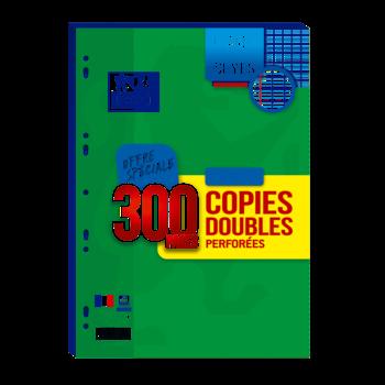 OXFORD Copies doubles grand carreaux - A4 - 300 pages