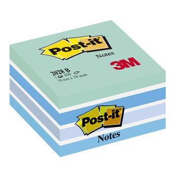 POST-IT Cube Post-it® Light Relax, 76 x 76 mm, 450 f.