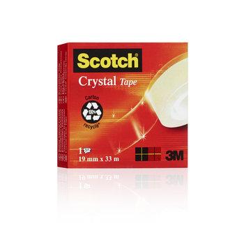 SCOTCH Ruban Scotch® Crystal 19 mm x 33 m