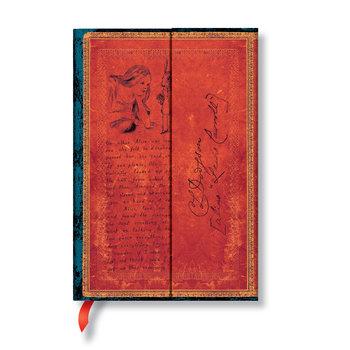 PAPERBLANKS Les Manuscrits Estampés Lewis Carroll, Alice au Pays des Merveilles Mini Non Ligné