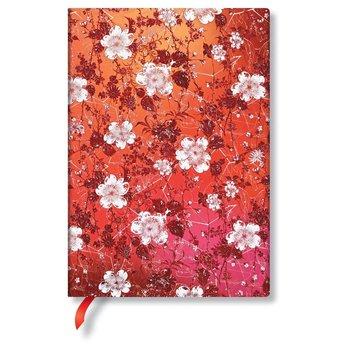 PAPERBLANKS Katagami Floraux Sakura Midi Ligné