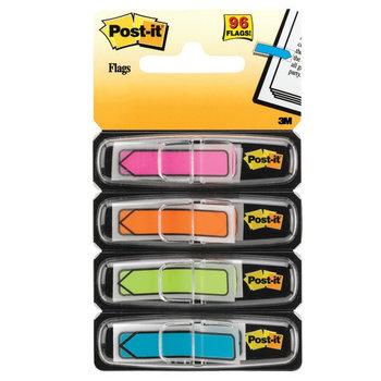 POST-IT Marque-pages Post-it® Flèches couleurs vives - Lot 4 x 24