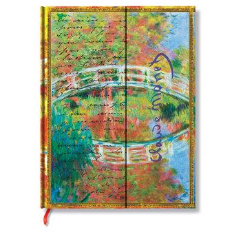 PAPERBLANKS Les Manuscrits Estampés Monet (Le Pont), Lettre à Morisot Ultra Non Ligné