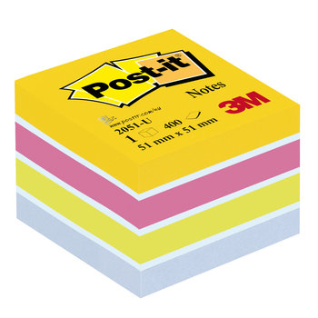 POST-IT Mini Cube Post-it® Energie, 51 x 51 mm, 400 f.