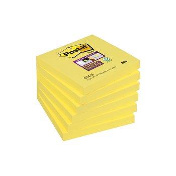 POST-IT Notes Super Sticky Post-it® Couleurs Jaune Jonquille, 76 x 76 mm