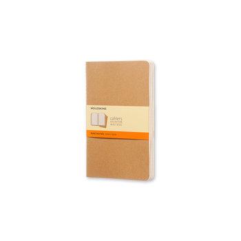 MOLESKINE Cahier grand format ligné x3 - Marron Kraft
