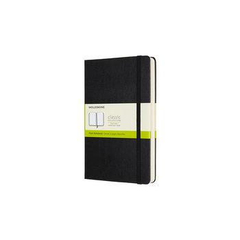 MOLESKINE Carnet augmenté classique grand format à pages blanches - Noir - Couverture rigide