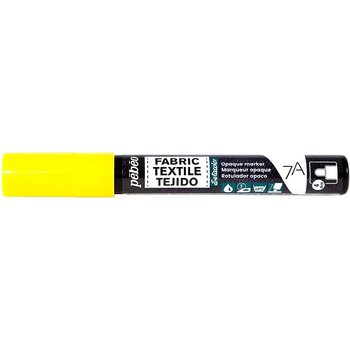 PEBEO 7A Marqueur tissu opaque 4mm Jaune