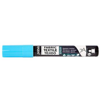 PEBEO 7A Marqueur tissu opaque 4mm Bleu pastel
