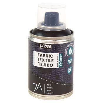 PEBEO 7A Spray textile 100ml Noir