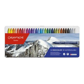 CARAN D'ACHE Néocolor® II - Boite métal 30 couleurs