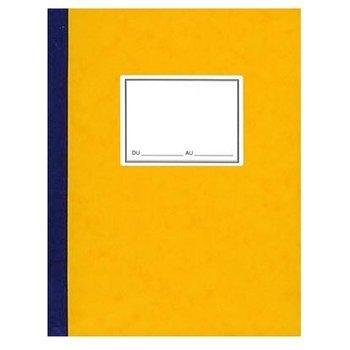 ELVE Piqure comptable 4 colones sur une page - 32 x 24 cm - 100 pages - Coloris aléatoires