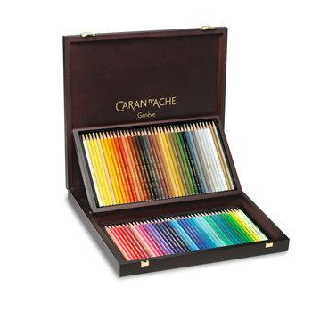 CARAN D'ACHE Coffret Bois Prismalo® 80 Crayons