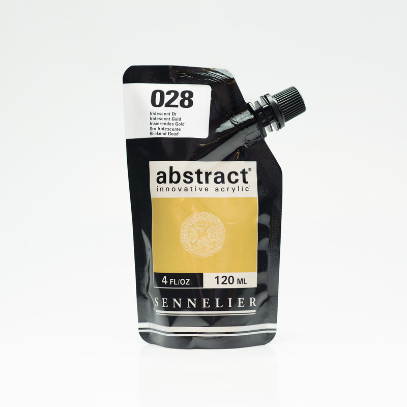 SENNELIER ABSTRACT Acrylique fine 120ml Iridescent Or