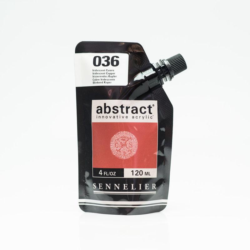 SENNELIER ABSTRACT Acrylique fine 120ml Iridescent Cuivre