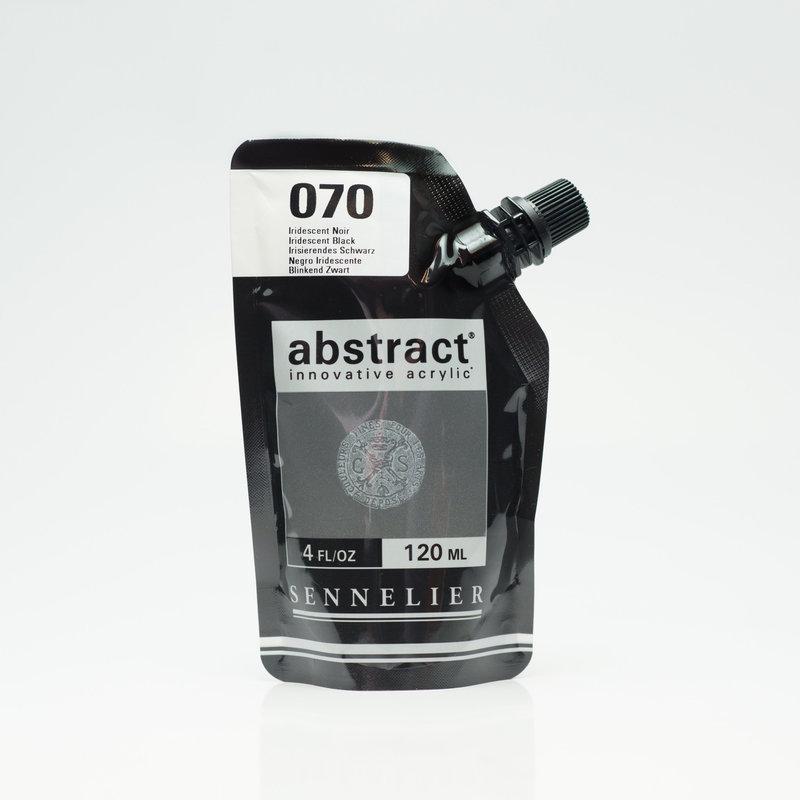 SENNELIER ABSTRACT Acrylique fine 120ml Iridescent Noir