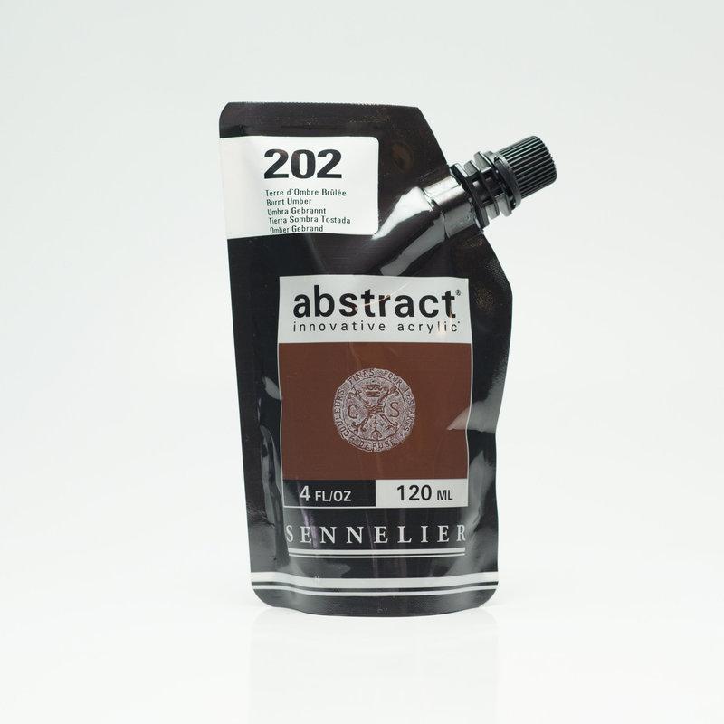 SENNELIER ABSTRACT Acrylique fine 120ml Terre d'Ombre Brûlée