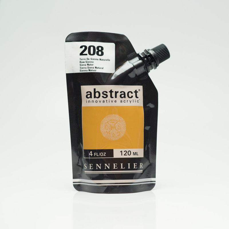 SENNELIER ABSTRACT Acrylique fine 120ml Terre de Sienne Naturelle