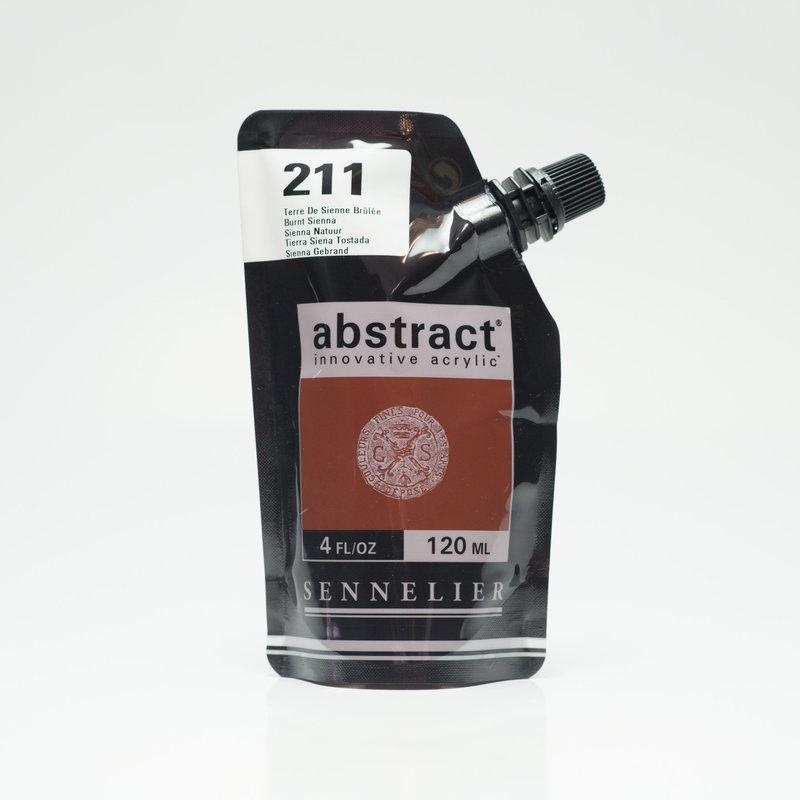 SENNELIER ABSTRACT Acrylique fine 120ml Terre de Sienne Brûlée