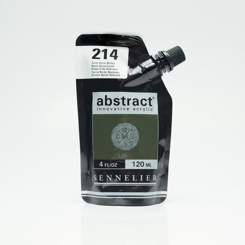 SENNELIER ABSTRACT Acrylique fine 120ml Terre Verte Brûlée