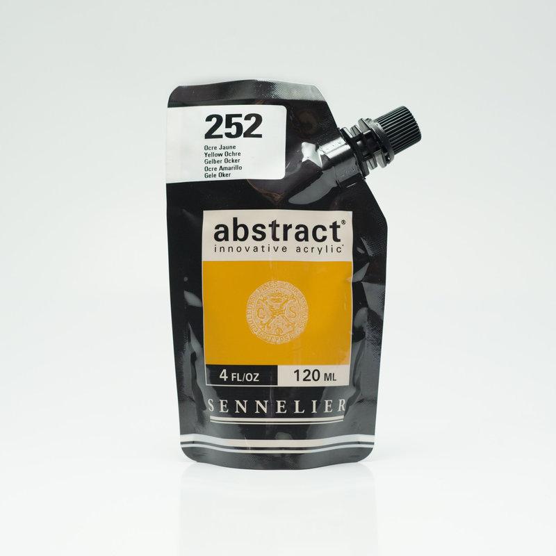 SENNELIER ABSTRACT Acrylique fine 120ml Ocre Jaune