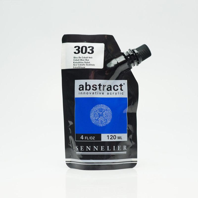 SENNELIER ABSTRACT Acrylique fine 120ml Bleu de Cobalt Imit