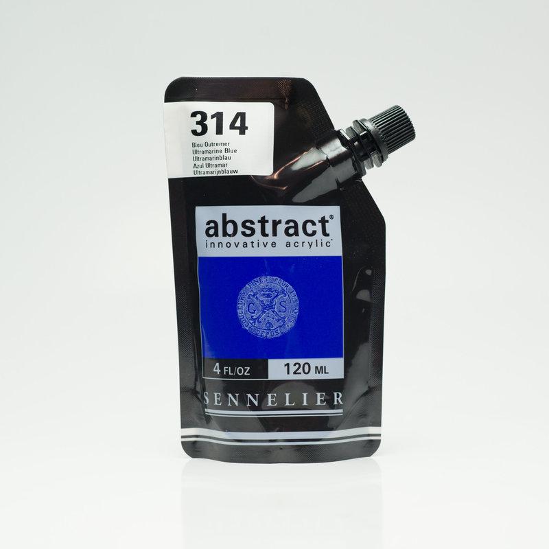 SENNELIER ABSTRACT Acrylique fine 120ml Bleu Outremer