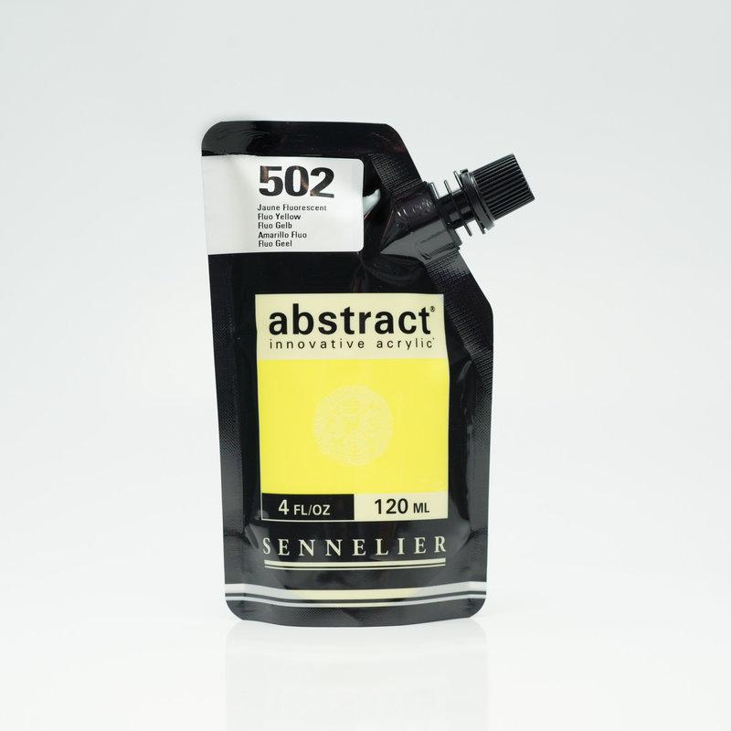 SENNELIER ABSTRACT Acrylique fine 120ml Jaune Fluorescent