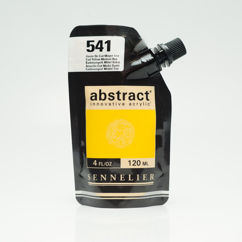 SENNELIER ABSTRACT Acrylique fine 120ml Jaune de Cad Moyen