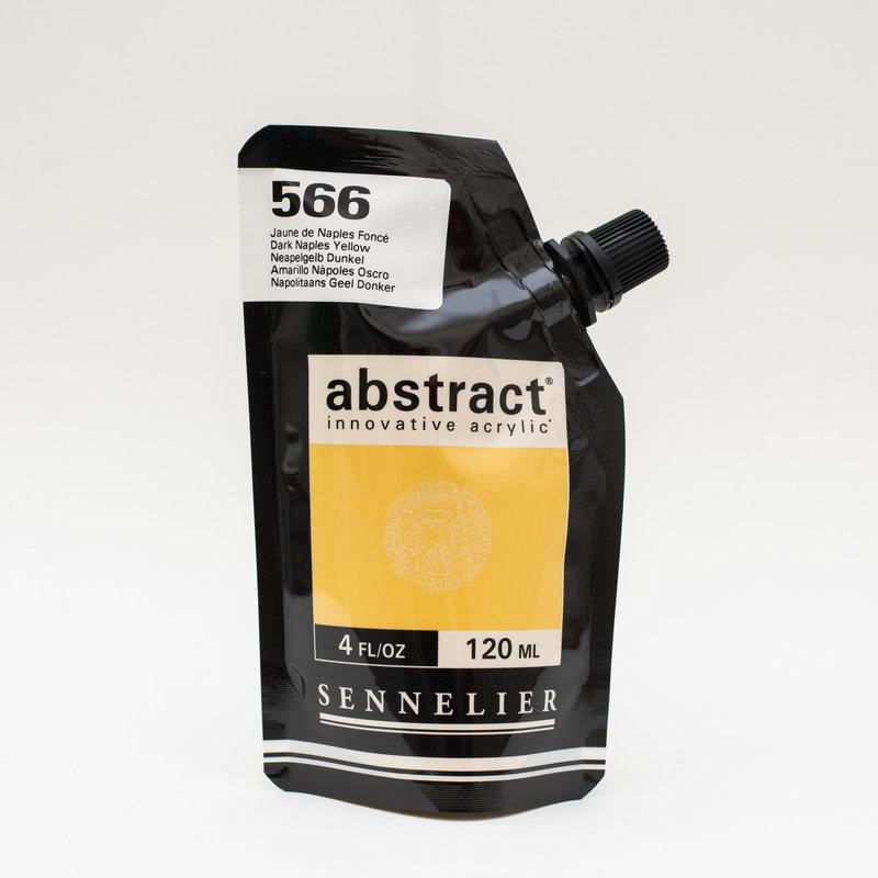 SENNELIER ABSTRACT Acrylique fine 120ml Jaune de Naples foncé