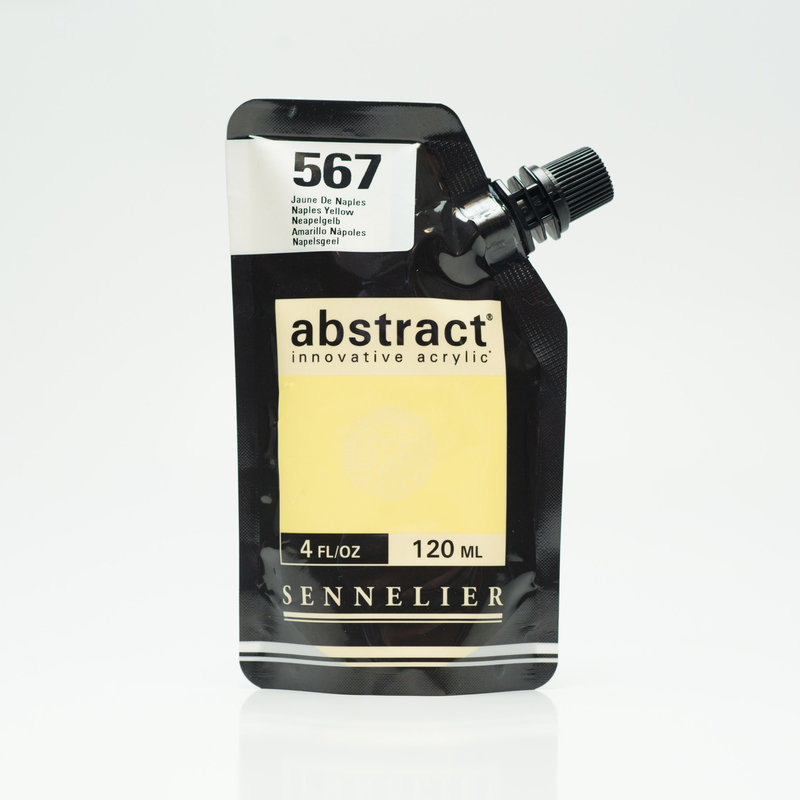 SENNELIER ABSTRACT Acrylique fine 120ml Jaune de Naples