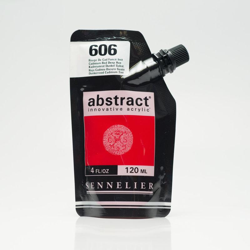 SENNELIER ABSTRACT Acrylique fine 120ml Rouge de Cad Foncé