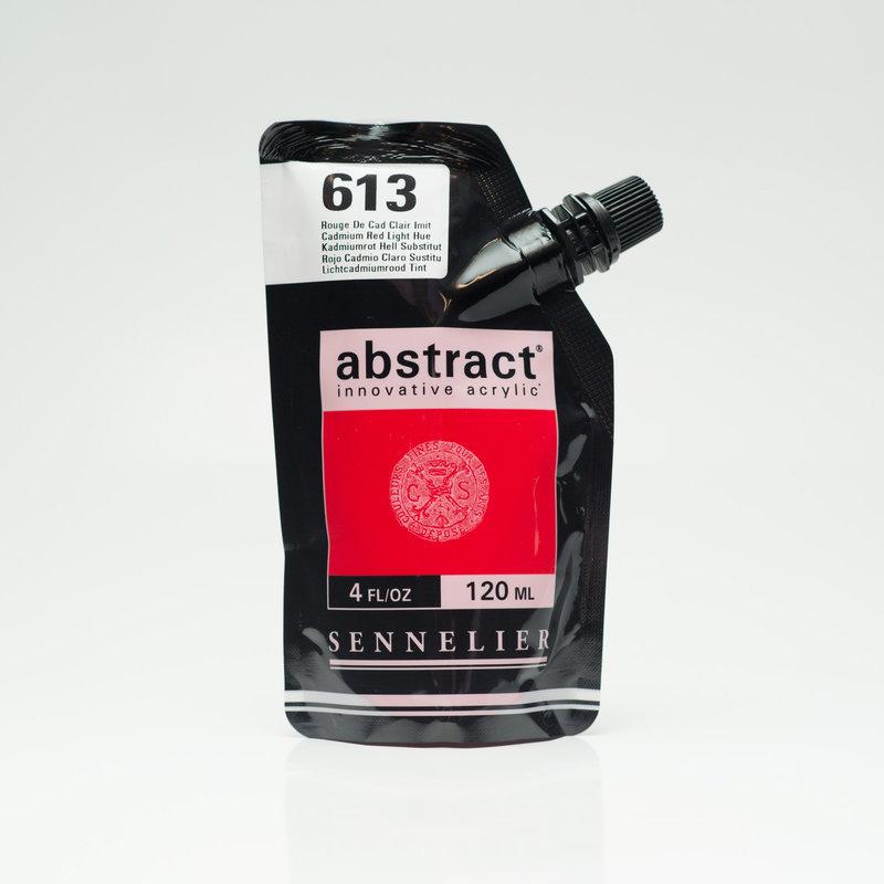 SENNELIER ABSTRACT Acrylique fine 120ml Rouge de Cad Clair