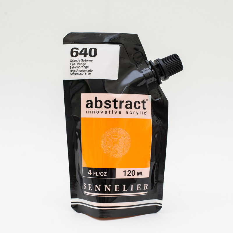 SENNELIER ABSTRACT Acrylique fine 120ml Orange de Saturne