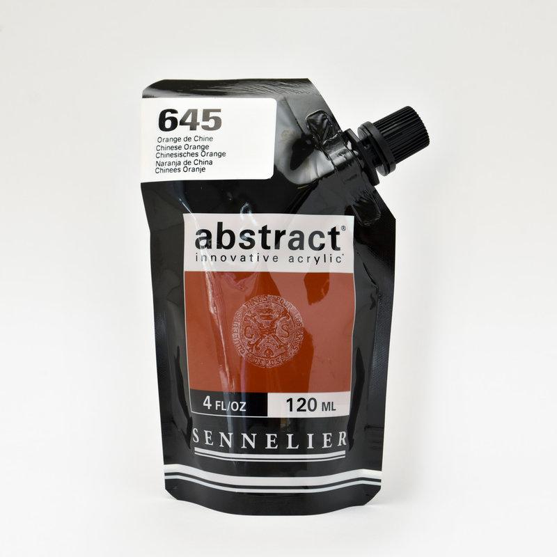 SENNELIER ABSTRACT Acrylique fine 120ml Orange de Chine