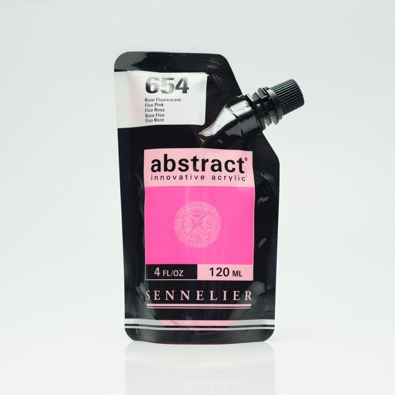 SENNELIER ABSTRACT Acrylique fine 120ml Rose Fluorescent