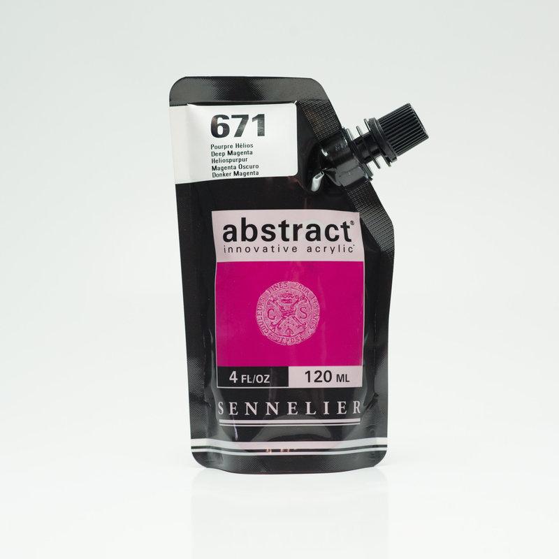 SENNELIER ABSTRACT Acrylique fine 120ml Pourpre Hélios