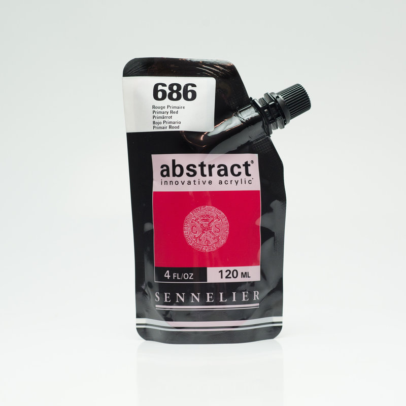 SENNELIER ABSTRACT Acrylique fine 120ml Rouge Primaire