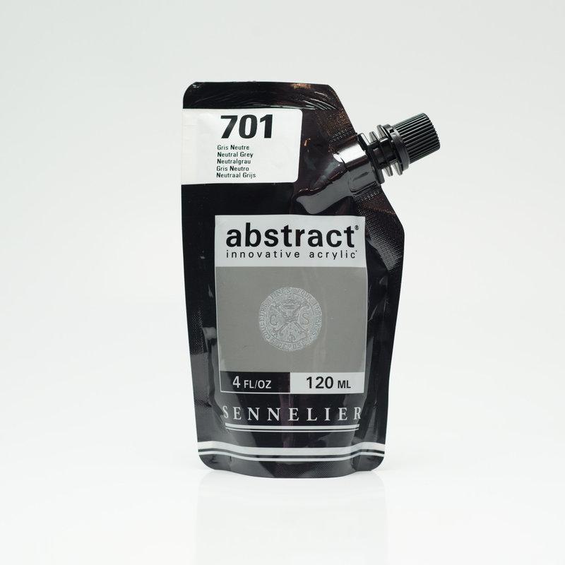 SENNELIER ABSTRACT Acrylique fine 120ml Gris Neutre