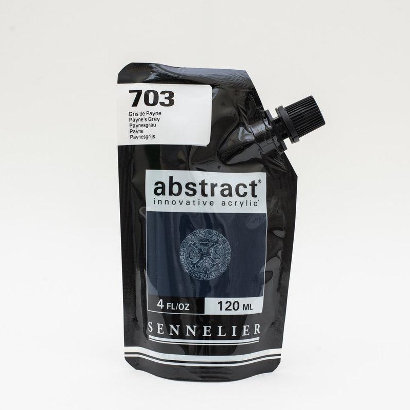 SENNELIER ABSTRACT Acrylique fine 120ml Gris de Payne