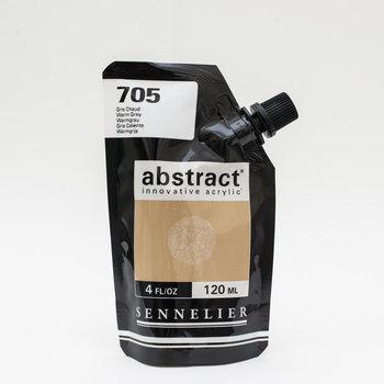 SENNELIER ABSTRACT Acrylique fine 120ml Gris chaud