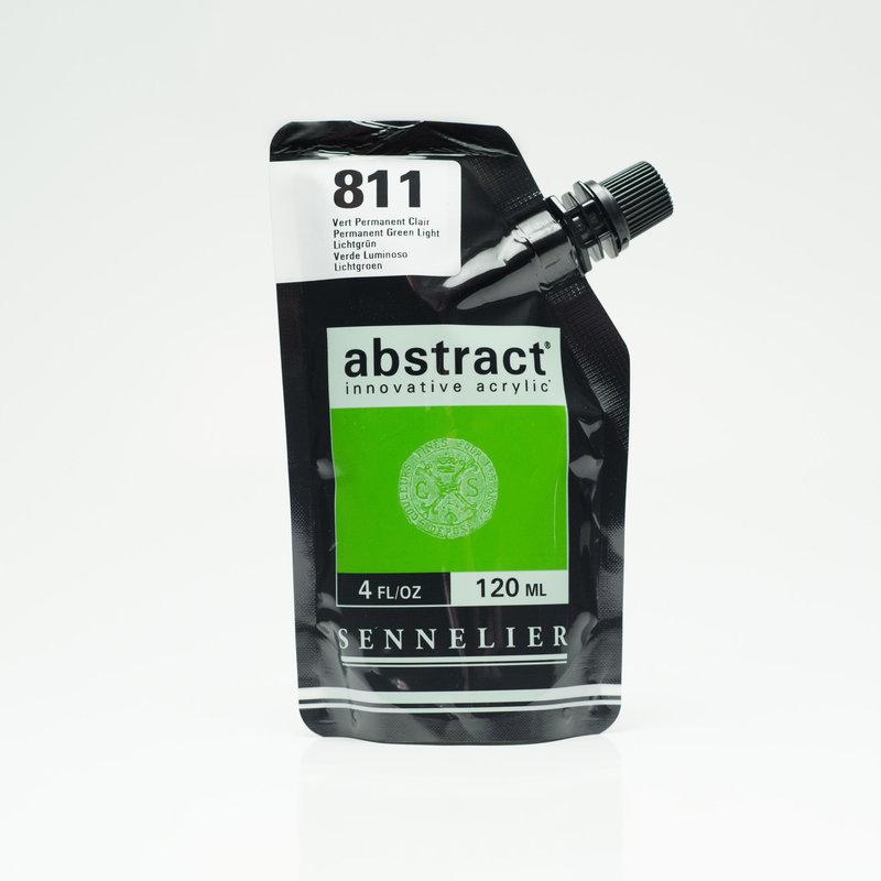 SENNELIER ABSTRACT Acrylique fine 120ml Vert Permanent Clair