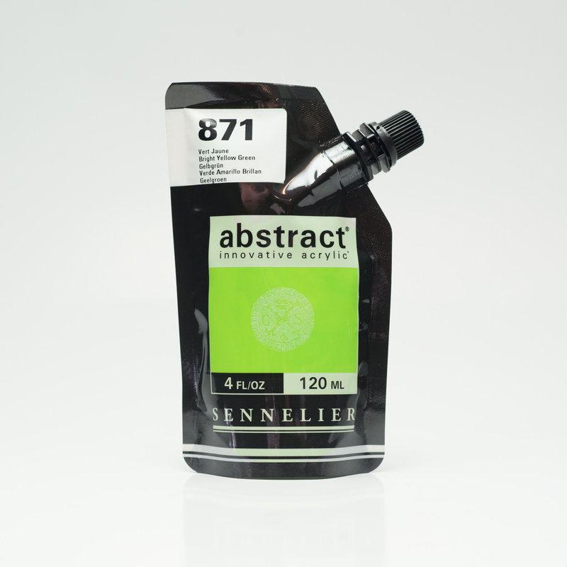 SENNELIER ABSTRACT Acrylique fine 120ml Vert Jaune