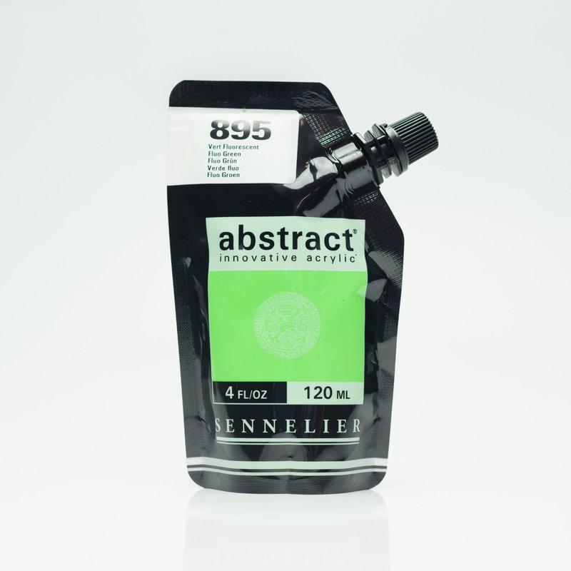 SENNELIER ABSTRACT Acrylique fine 120ml Vert Fluorescent