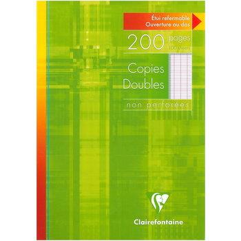 CLAIREFONTAINE Copies doubles grands carreaux - 21x29,7 cm -  200 pages