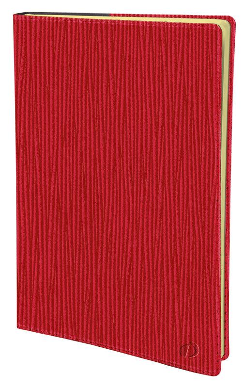 QUO VADIS Agenda scolaire Universitaire prestige Sahara 10x15cm rouge