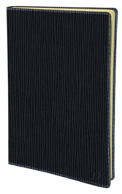 QUO VADIS Agenda scolaire Universitaire prestige Sahara 10x15cm noir