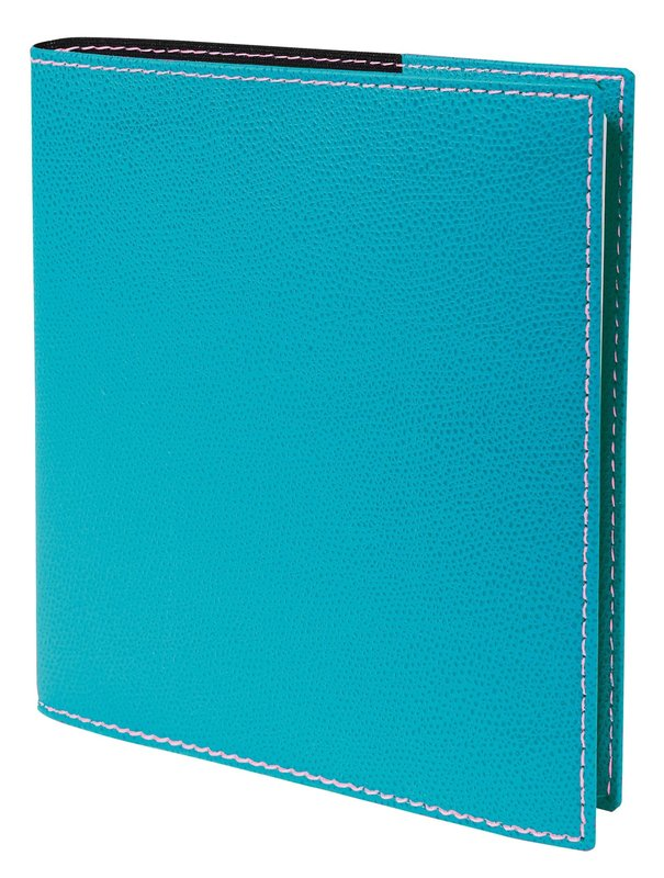 QUO VADIS Agenda scolaire semainier Executif SEPT rep Club 16x16cm turquoise