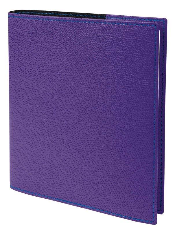 QUO VADIS Agenda scolaire semainier Executif SEPT rep Club 16x16cm violet