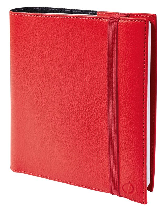 QUO VADIS Agenda scolaire semainier Time&life SEPT rep Medium 16x16cm Rouge
